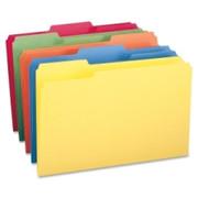 Smead 16943 Assortment Colored File Folders