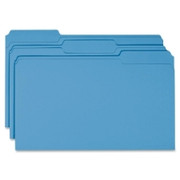 Smead 17043 Blue Colored File Folders
