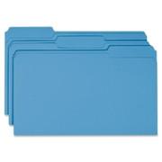 Smead 17043 Blue Colored File Folders