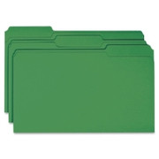 Smead 17143 Green Colored File Folders