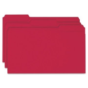 Smead 17743 Red Colored File Folders