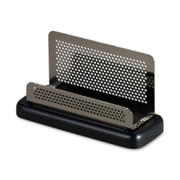 Rolodex Distinctions Pewter Business Card Holder