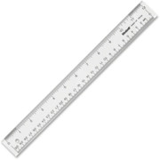 Westcott See-through Ruler