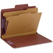 Smead SuperTab Classification Folders with SafeSHIELD Coated Fastener Technology - 1