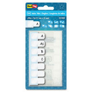 Redi-Tag Permanent Write-On Index Tabs - 1