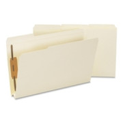 Smead 19595 Manila Expansion Fastener File Folders with Reinforced Tab
