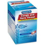 PhysiciansCare Cherry Flavored Cough/Sore Throat Lozenges (Compare to Halls), 50 Lozenges