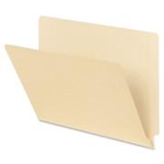 Smead 24110 Manila End Tab File Folders with Reinforced Tab