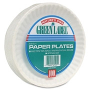 AJM Green Label Plate