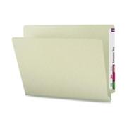 Smead 26200 Gray/Green End Tab Pressboard File Folders