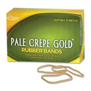 Pale Crepe Gold Rubber Band - 4