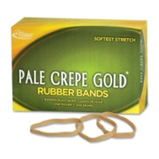 Pale Crepe Gold Rubber Band - 5