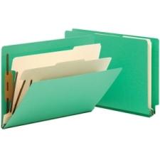 """2/"""" Smead 13702 Green Classification File Folders Letter 8.50/"""" X 11/"""""""