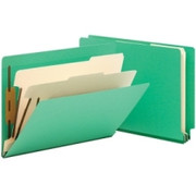 Smead 26837 Green End Tab Classification File Folder