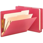 Smead 26838 Red End Tab Classification File Folder
