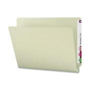 Smead 29210 Gray/Green End Tab Pressboard File Folders