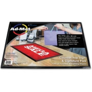 Artistic Ad-Mat Sign/Signature Pad
