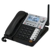 AT&T SynJ SB67148 DECT 6.0 Cordless Phone - Black, Silver