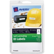 Avery Printable Self-Laminating ID Labels