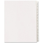 Avery Side Tab Collated Legal Index Dividers - 5