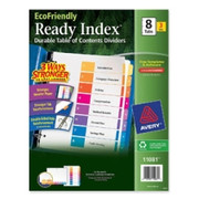 Avery EcoFriendly Ready Index Table of Contents Divider - 1