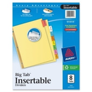 Avery WorkSaver Big Tab Insertable Divider - 2