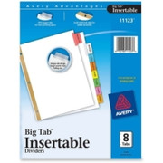 Avery WorkSaver Big Tab Insertable Tab Divider - 2