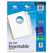 Avery WorkSaver Big Tab Insertable Tab Divider - 3
