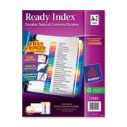Avery Ready Index Table of Contents Reference Dividers
