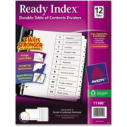 Avery Classic Ready Index Table of Contents Divider - 2