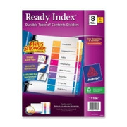 Avery Ready Index Table of Contents Reference Divider - 8