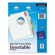 Avery WorkSaver Extra Wide Big Tab Divider - 2