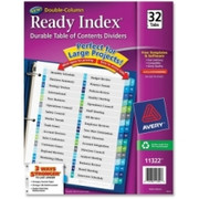 Avery Double Column Index Divider - 2