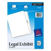 Avery Premium Collated Legal Exhibit Divider - 4