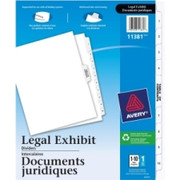Avery Premium Collated Legal Exhibit Divider - 6