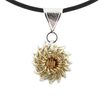 Whirlybird Necklace Kit - Gold and Silver