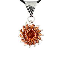 Whirlybird Necklace Kit - Orange