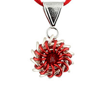 Whirlybird Necklace Kit - Red