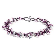 Shaggy Loops Bracelet Kit - Purple Mist