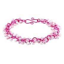 Shaggy Loops Bracelet Kit - Pink Mist