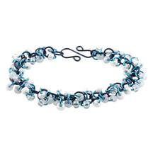 Shaggy Loops Bracelet Kit - Blue Mist