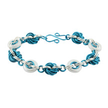 Pacific Opal Inspiral  Chain Maille Bracelet Kit