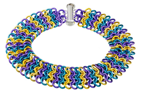 European 4-in-1 chainmaille bracelet kit