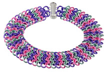 Lilac European 4-in-1 chainmaille bracelet kit