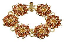 Goldilocks Flares Bracelet Kit by Genny Smith