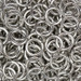 18 gauge bright aluminum jump rings
