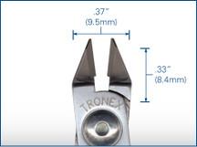 Tronex Taper Relief Razor Flush Cutter, Short Handle