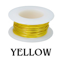 Yellow Enameled Copper Wire