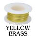 Yellow Brass Wire