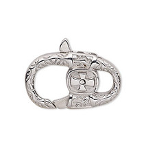 Lobster Clasp, Stainless Steel, Fancy
